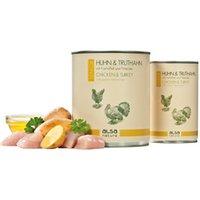 alsa-nature SENIOR Huhn & Truthahn mit Kartoffel und Petersilie Nassfutter, Anzahl: 800 g, 800 g, Hundefutter nass