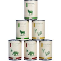 alsa-nature SENIOR Dosen-Menü-Mix Nassfutter, Anzahl: 120 x 400 g, 400 g, Hundefutter nass