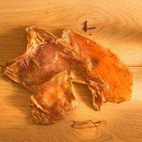 alsa-nature Straußen-Chips Kauartikel, 250 g, Hundefutter