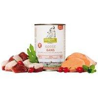 isegrim® PRAIRIE Gans mit Süßkartoffeln, Hagebutten & Wildkräutern Nassfutter, Anzahl: 6 x 400 g, 400 g, Hundefutter nass
