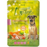 alsa natural Love Single-Protein Huhn mit Amarant, Kürbis und Petersilie, 6 x 300 g, Hundefutter