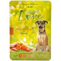 alsa natural Love Huhn & Reis mit Aprikose, 30 x 300 g, Hundefutter