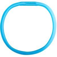 Hunde-Leuchthalsband Flash blau, Gr. 2