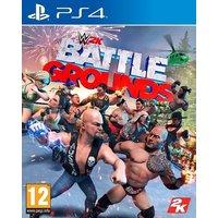 PS4 WWE WK Battlegrounds ENG/FR