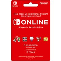 Gift Card Nintendo Switch Online – lidmaatschap 3 maanden