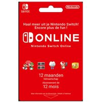 Gift Card Nintendo Switch Online – lidmaatschap 12 maanden