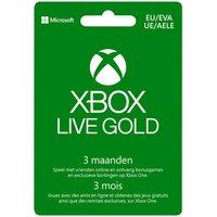 Gift Card Xbox Live Gold – lidmaatschap 3 maanden