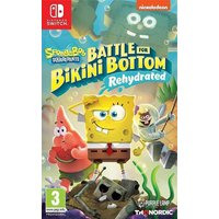 Nintendo Switch Spongebob Squarepants Battle for Bikini Bottom Rehydrated ENG/FR