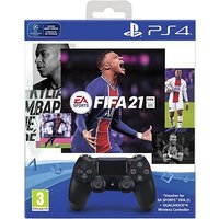 PS4 controller DualShock 4 + FIFA 21 + PS Plus 14 dagen abonnement