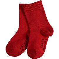 FALKE Sensitive Baby Socks, 62-68, Red, Block colour, Cotton