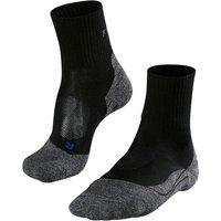 FALKE TK2 Short Cool Women Trekking Socks, 39-40, Black
