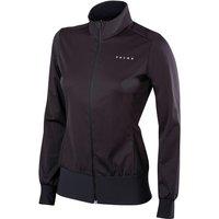 FALKE Windproof Women Running Jacket, XL, Black