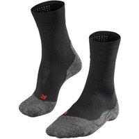 FALKE TK2 Sensitive Men Trekking Socks, 39-41, Black, Wool