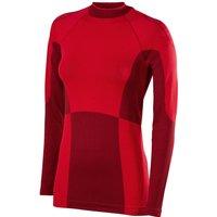 FALKE Women Long sleeved Shirt Maximum Warm, S, Red