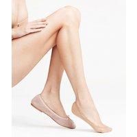 FALKE Elegant Step Women No Show Socks, 35-36, Brown, Block colour