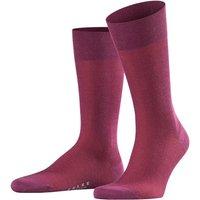 FALKE Fine Shadow Wool Men Socks, 43-44, Pink, Stripes, Virgin Wool