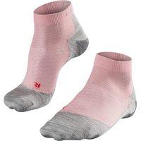 FALKE RU5 Lightweight Short Women Running Socks, 39-40, Rose
