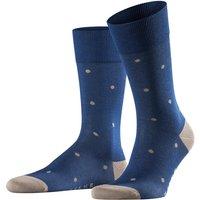 FALKE Dot Men Socks, 43-46, Blue, Dots, Cotton