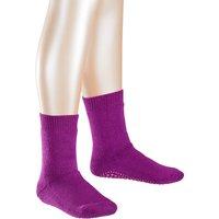 FALKE Catspads Kids Socks, 23-26, Pink, Block colour, Cotton