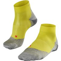 FALKE RU5 Lightweight Short Men Running Socks, 46-48, Yellow