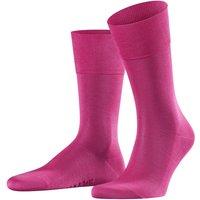 FALKE Tiago Men Socks, 43-44, Pink, Block colour, Cotton