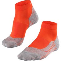 FALKE RU4 Short Women Running Socks, 35-36, Orange, Cotton