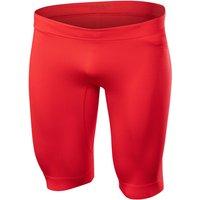 FALKE Compression Short Men Tights, L, Red, Block colour