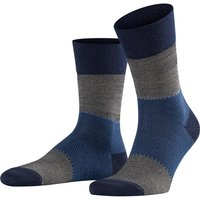 FALKE Sensitive Shelter Men Socks, 43-46, Black, Jacquard, Virgin Wool