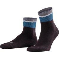 FALKE Free Time Men Socks, 43-46, Black, Other pattern, Cotton