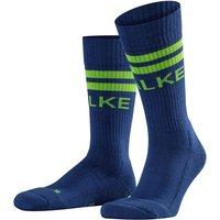 FALKE Retro Socks, 37-38, Blue, Stripes, Cotton