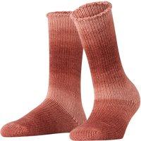 FALKE Tonal Paring Women Socks, 39-42, Brown, Block colour, Wool