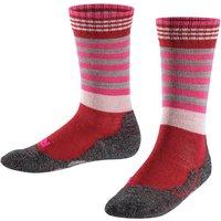FALKE Frog Kids Socks, 35-38, Red, Stripes, Wool