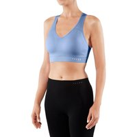 FALKE Shape Low Support Women Sport-Bra, XL, Blue, Block colour