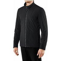FALKE Men Jacket Stand-up collar, 3XL, Black, Block colour
