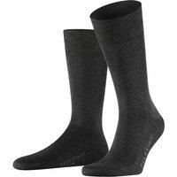 FALKE Cool 24/7 Men Socks, 41-42, Grey, Block colour, Cotton