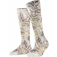 FALKE Greenhouse Men Socks, 45-46, White, Motif, Cotton