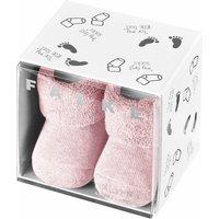 FALKE Erstling Baby Socks, 50-56, Rose, Block colour, Cotton
