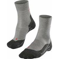 FALKE RU4 Wool Women Running Socks, 35-36, Grey, Virgin Wool