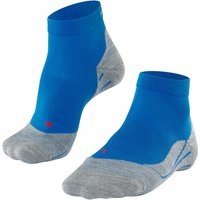 FALKE RU4 Short Women Running Socks, 39-40, Blue, Cotton