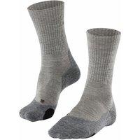 FALKE TK2 Wool Women Trekking Socks, 39-40, Beige, Virgin Wool