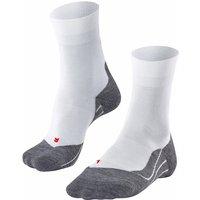 FALKE RU4 Women Running Socks, 37-38, White, Cotton