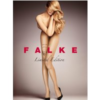 FALKE Tattoo 12 DEN Women Tights, S-M, Brown, Motif