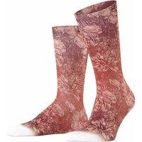 FALKE Vintage Rebel Men Socks, 39-40, Red, Motif, Cotton
