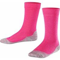 FALKE Active Sunny Days Kids Socks, 39-42, Pink, Block colour, Cotton