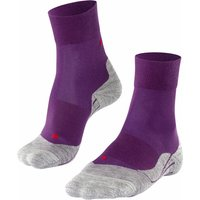 FALKE RU4 Women Running Socks, 39-40, Purple, Cotton
