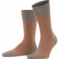 FALKE Shadow Men Socks, 39-40, Grey, Stripes, Cotton