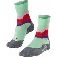 FALKE RU4 Wave Women Running Socks, 35-36, Green, Cotton
