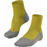 FALKE TK5 Short Women Trekking Socks, 41-42, Green, Virgin Wool