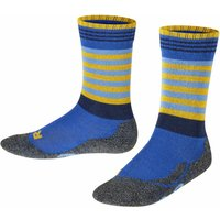 FALKE Frog Kids Socks, 27-30, Blue, Stripes, Wool