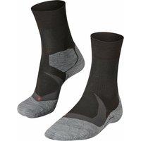 FALKE RU4 Cool Men Running Socks, 44-45, Black